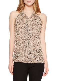 Parker Allie Sleeveless Silk Blend Blouse