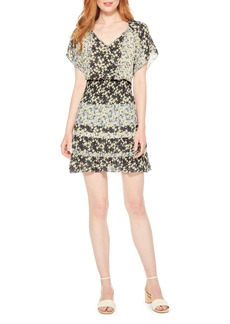 Parker Augustine Silk Blend Minidress