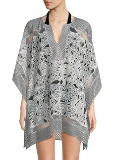 Parker Palm Printed Cover-Up