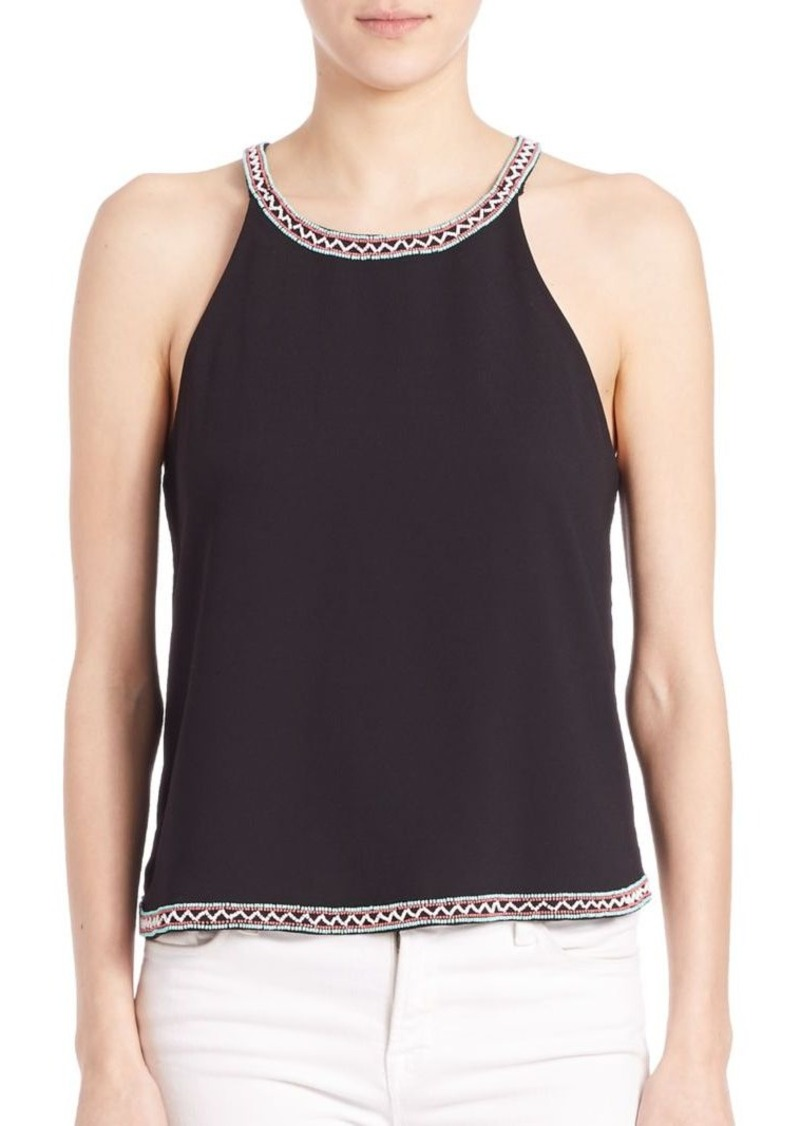 Parker Beaded Panel Top