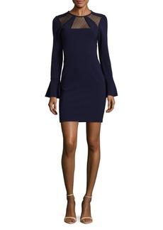 Parker Bell Sleeve Sheath Dress