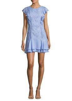 Parker Bennett Ruffle Dress