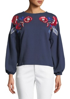 Parker Berniece Embellished Blouse