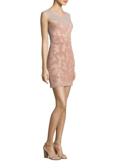Parker Montclair Beaded Dress