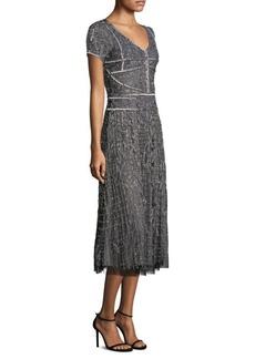 Parker Black Shannon Midi Dress