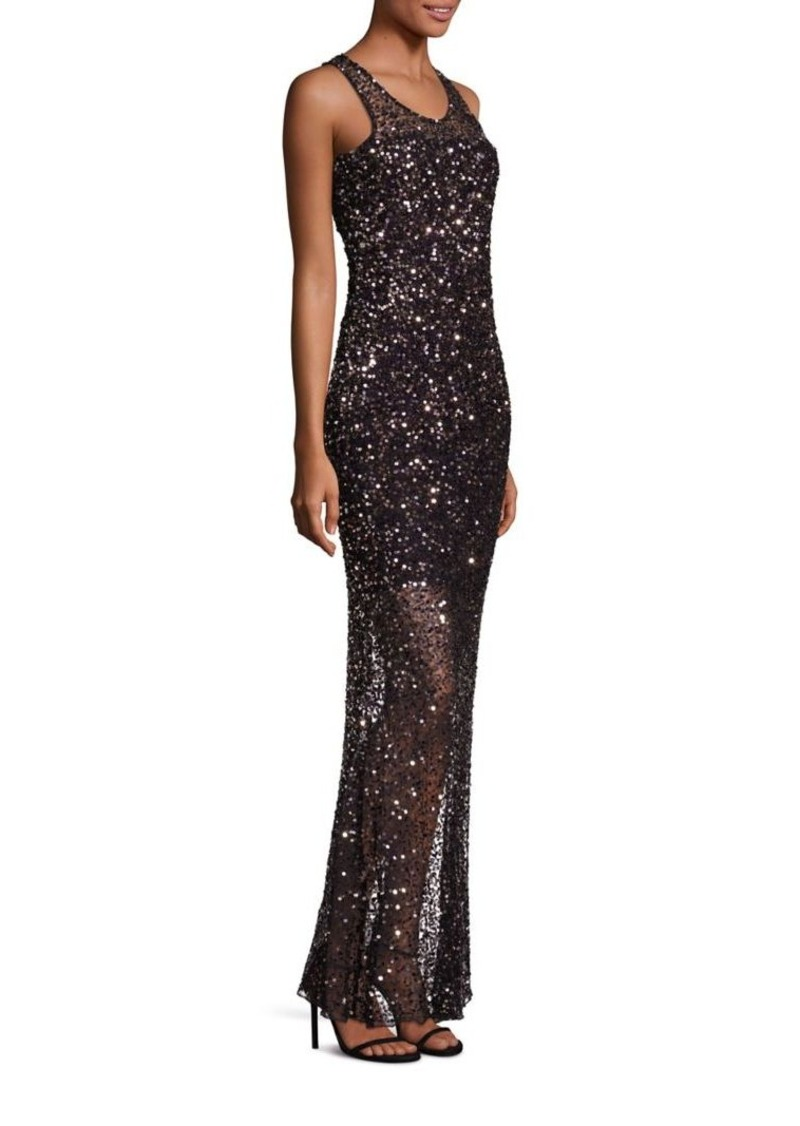 478fa566a6b Parker Tiffany Sequin Gown
