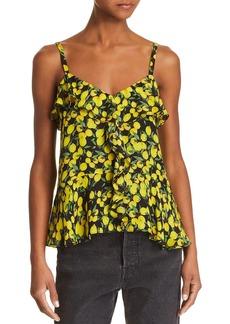 Parker Bonnie Lemon Top