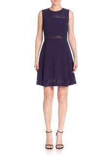 Parker Breslin Laser-Cut Dress