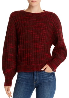 Parker Caims Ribbed Crewneck Sweater