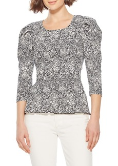 Parker Capella Puff Shoulder Top