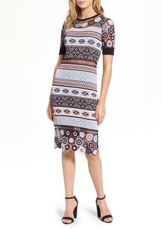 Parker Carol Crochet Pencil Dress