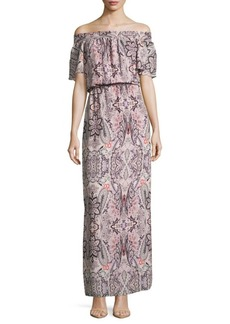 Parker Cayman Printed Dress