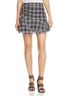 Parker Chris Plaid Mini Skirt