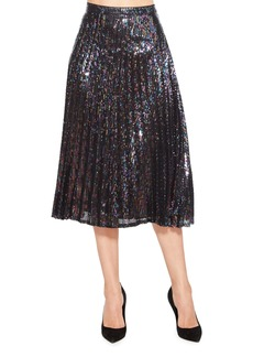 Parker Citrine Sequin Skirt