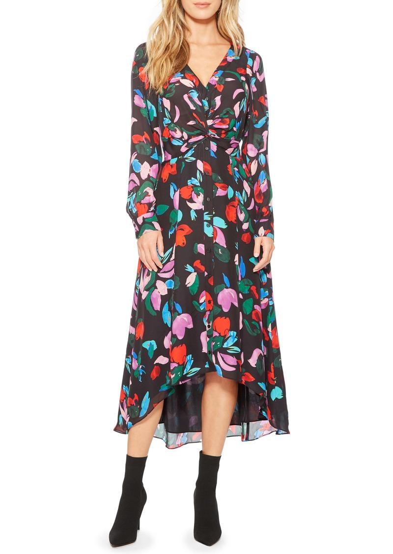 Parker Cora Floral Print Maxi Dress