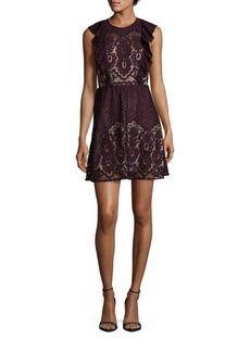 Parker Cotton-Blend Lace Dress
