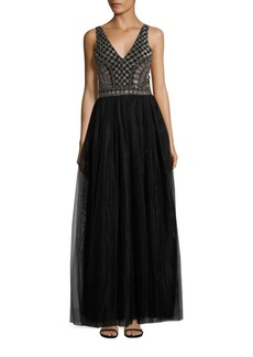 Parker Courtney Embellished Gown