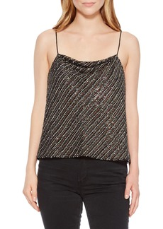 Parker Cowl Neck Beaded Camisole