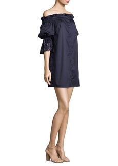 Parker Dakota Cotton Off-The-Shoulder Dress