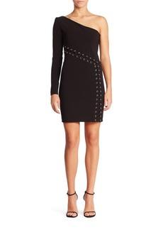 Parker Davida One-Shoulder Dress