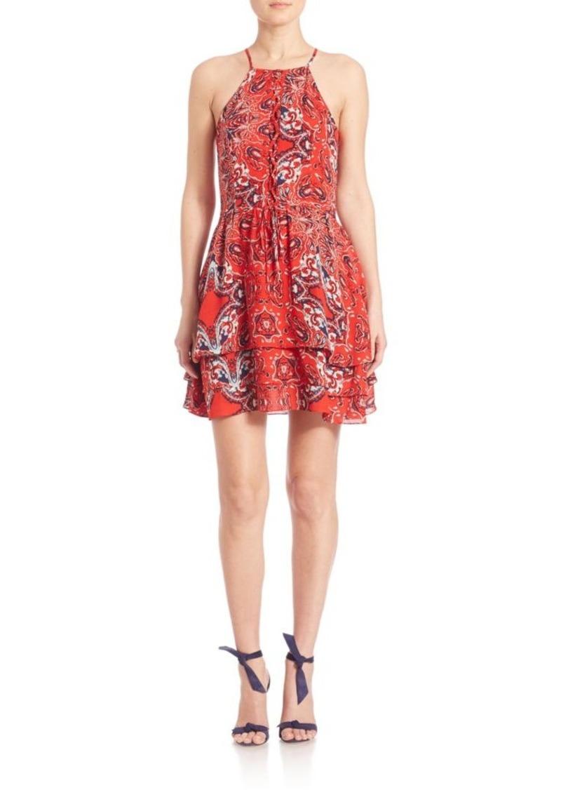 Parker Dax Bandana Printed Dress