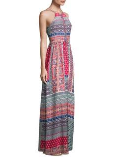 Parker Daxy Printed Maxi Dress