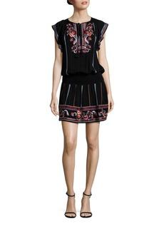 Parker Dean Embroidered Dress