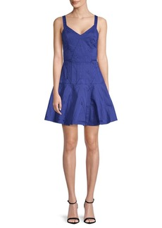 Parker Delos Fit And Flare Dress