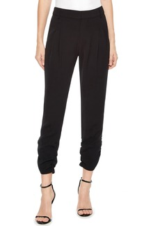 Parker Devlin Ruched Ankle Crop Pants