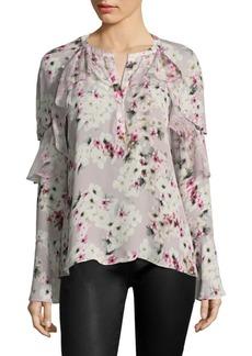 Parker Dixie Silk Floral Blouse