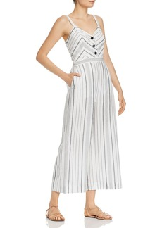Parker Dominica Striped Jumpsuit