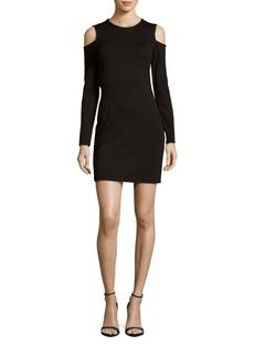 Parker Duffy Cold-Shoulder Sheath Dress