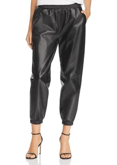 Parker Eavan Leather Jogger Pants