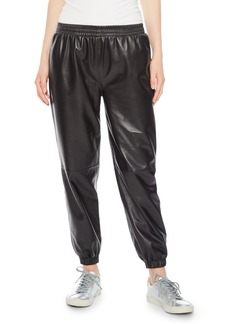 Parker Eavan Leather Jogger Pants