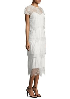 Parker Elsa Tiered Lace Dress