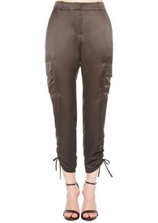 Parker Emerson Ruched Crop Cargo Pants