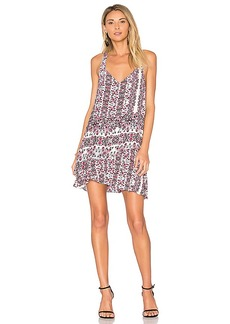 Parker Eve Combo Dress in Lavender. - size L (also in M,S,XS)