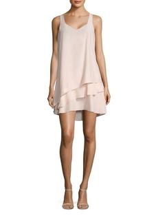Parker Eve Layered Silk Dress