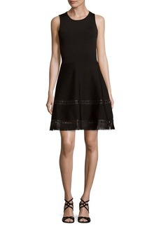 Parker Faux Leather Dress