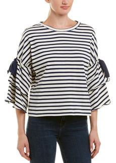 Parker Flare-Sleeve Sweatshirt