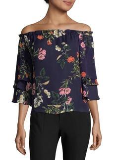 Parker Floral Off-The-Shoulder Top