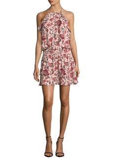 Parker Floral-Print Halter Dress