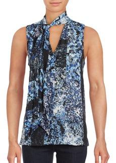 Parker Floral Tie Top