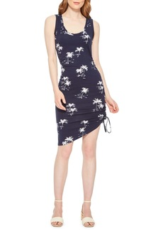 Parker Freddie Floral Cinch Body-Con Dress