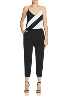 Parker Frida Color-Block Jumpsuit