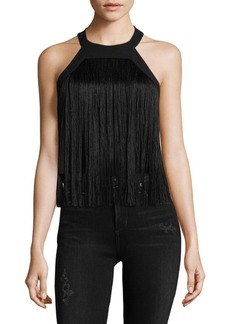 Parker Fringed Sleeveless Top