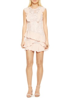 Parker Gabriel Lace Ruffle Dress