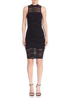 Parker Gemma Knit Illusion Dress