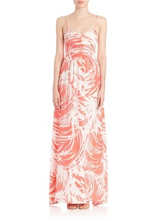 Parker Graphic Printed Gown