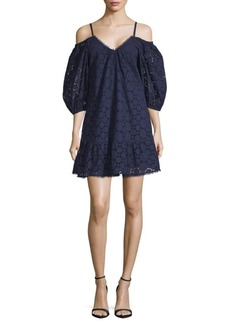 Parker Henrietta Circle Eyelet Dress